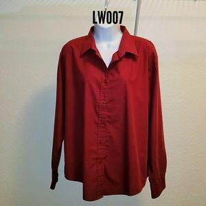 Edward Women's Long Sleeve Dress Shir